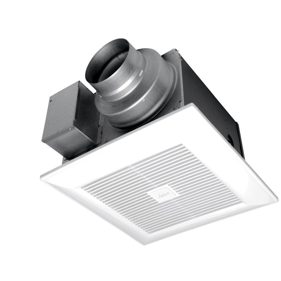 Shop Panasonic 0 3 Sone 110 CFM White Bathroom Fan ENERGY STAR At