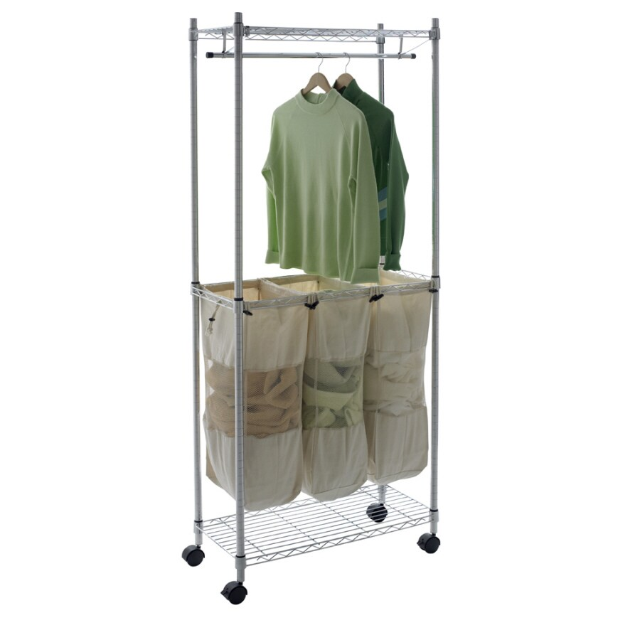 Real Organized Supreme Chrome Laundry Center