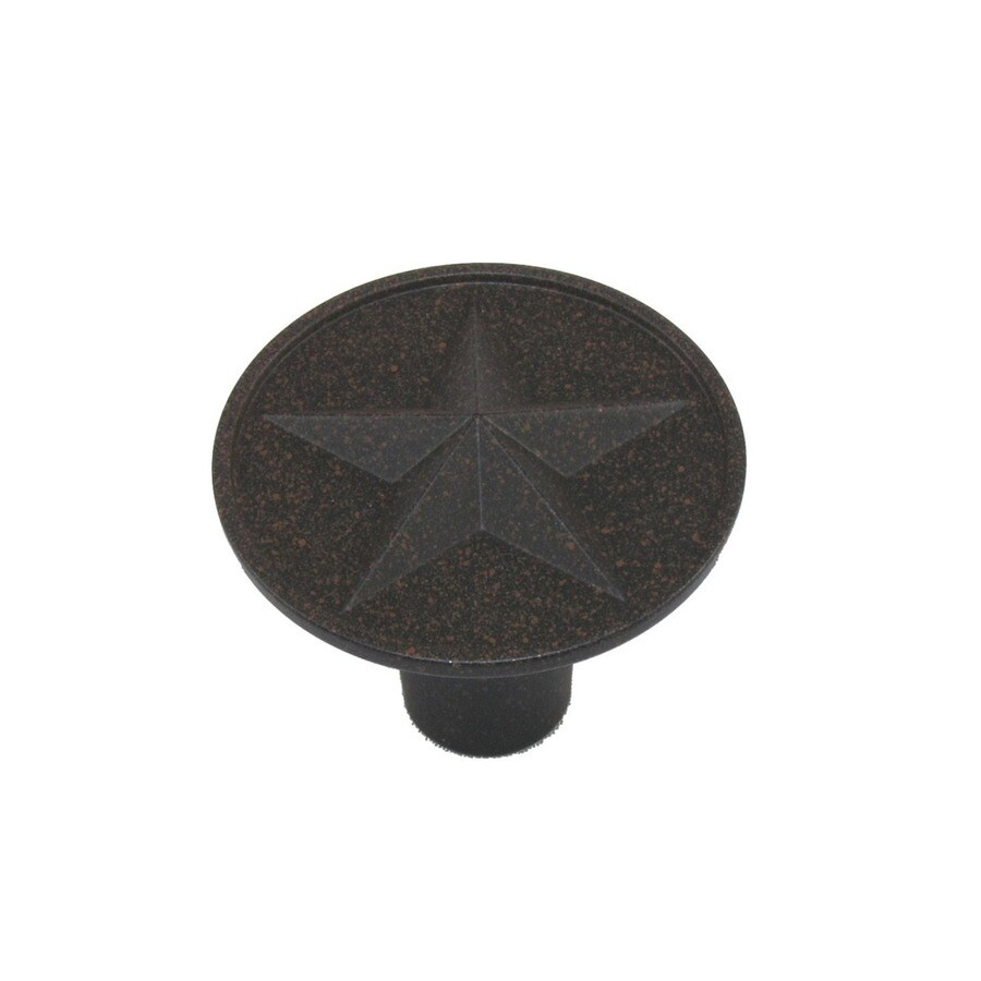 Style Selections Rust Round Cabinet Knob