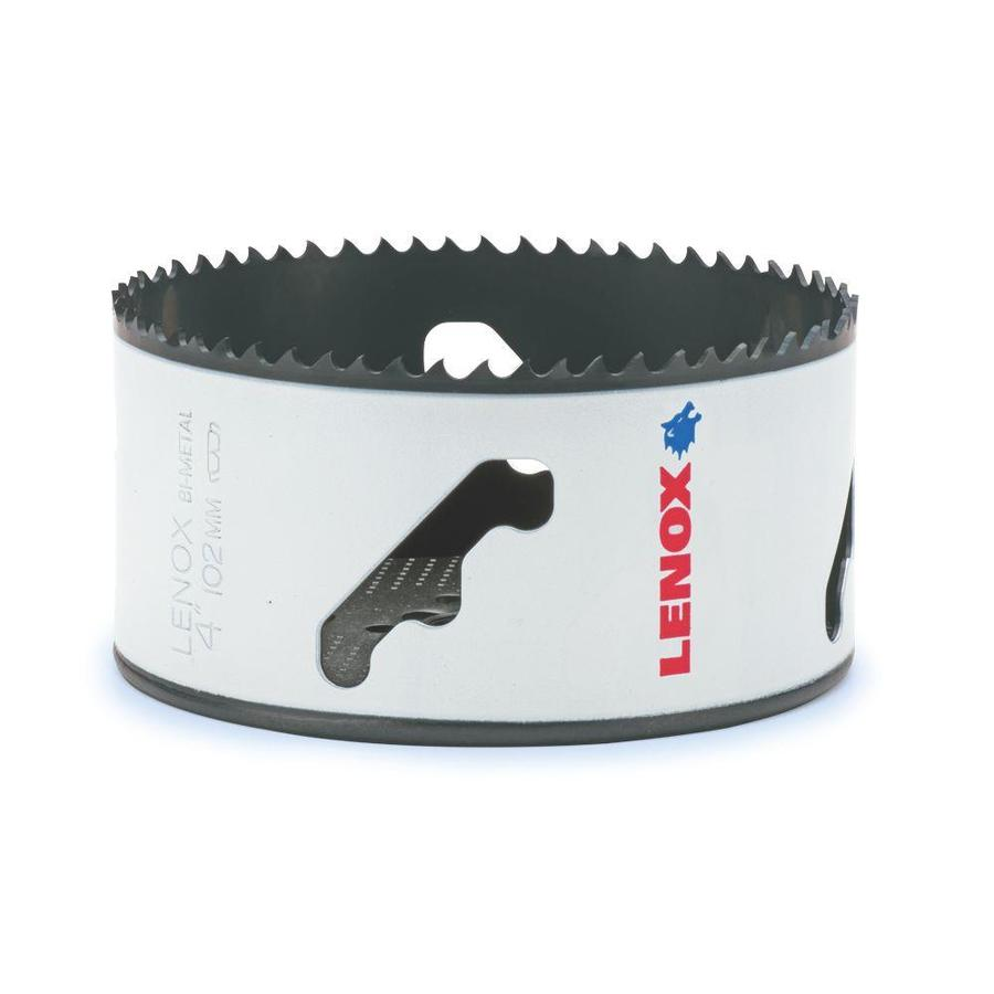 LENOX 4-in Bi-Metal Non-Arbored Hole Saw
