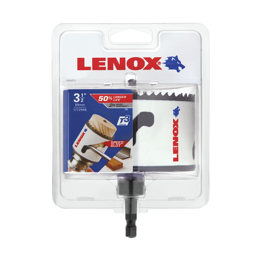 LENOX 3-1/2-in Bi-Metal Arbored Hole Saw