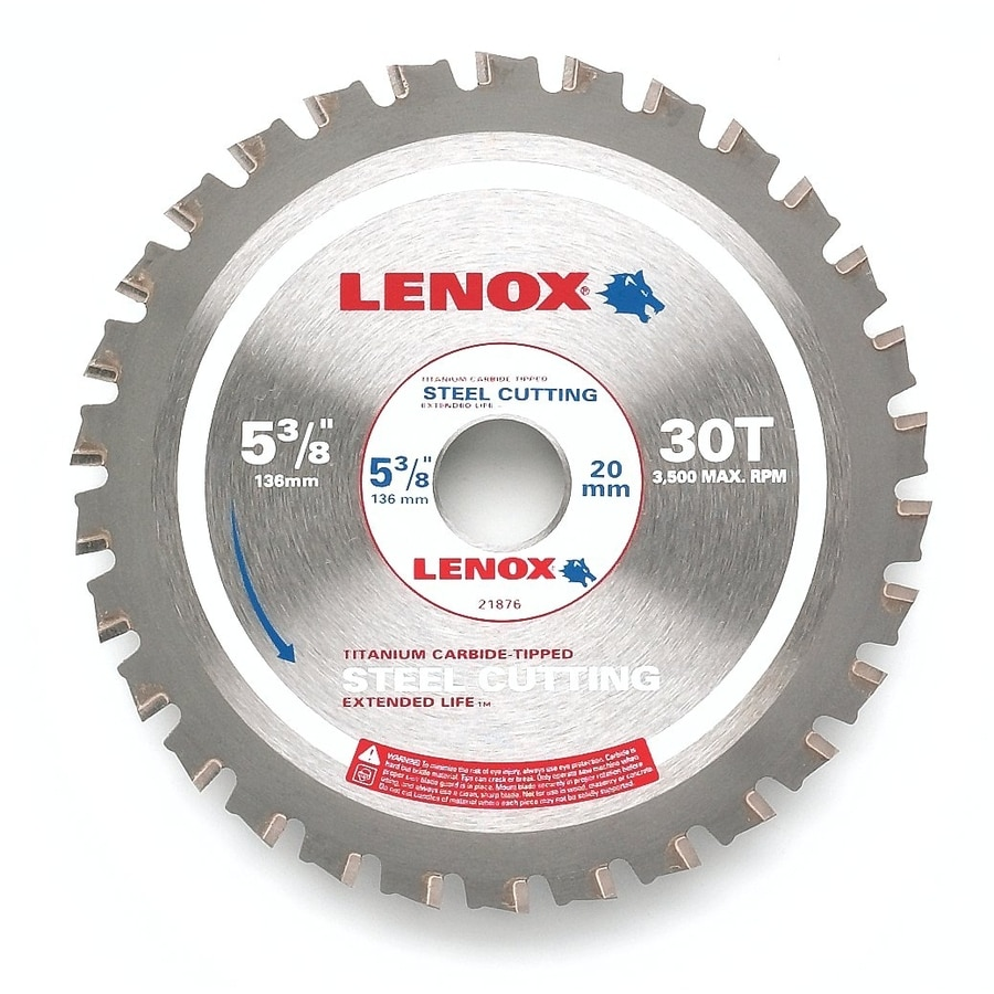 LENOX 5-3/8-in 30-Tooth Continuous Carbide Circular Saw Blade