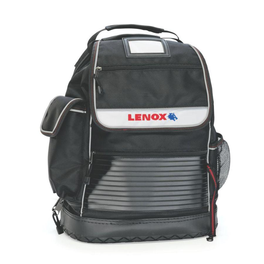 LENOX Ballistic Nylon Zippered Backpack Tool Bag