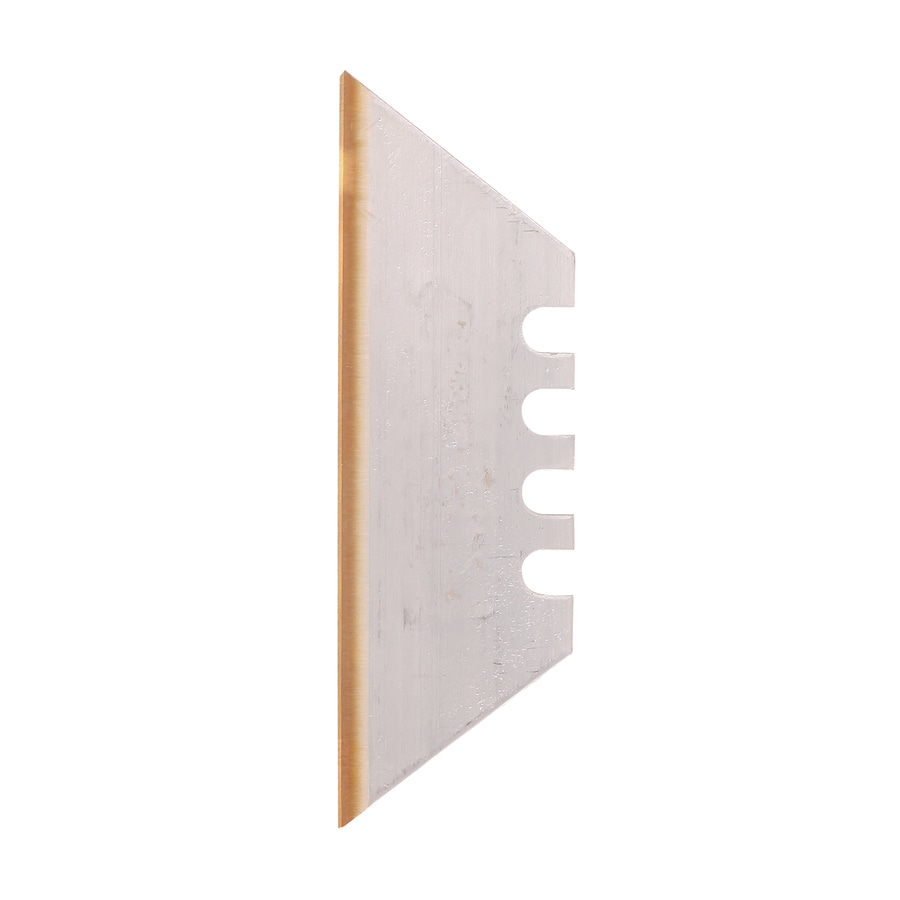 LENOX 5-Pack 2.4-in Carbon Steel Straight Edge Replacement Utility Blades