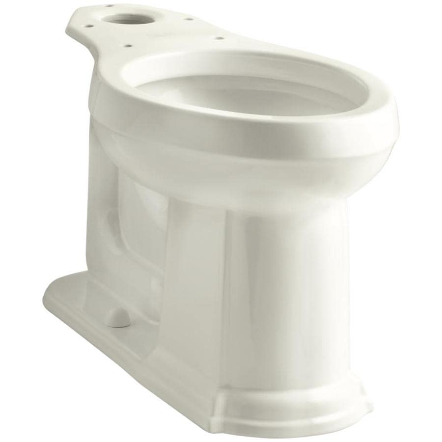 KOHLER Devonshire Chair Height Biscuit 12-in Rough-In Elongated Toilet Bowl