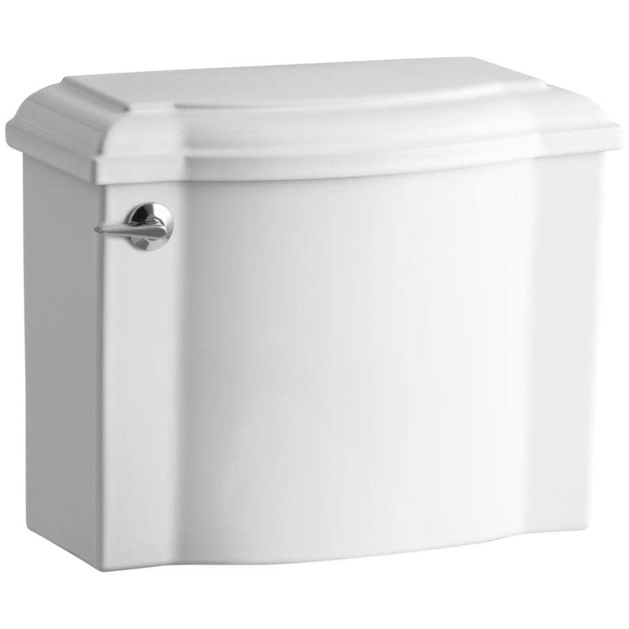 KOHLER Devonshire White 1.28-GPF (4.85-LPF) 12-in Rough-In Single-Flush High-Efficiency Toilet Tank