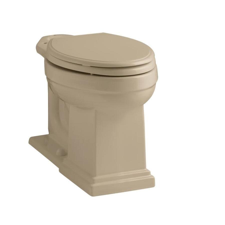 KOHLER Tresham Chair Height Mexican Sand 12 Rough-In Elongated Toilet Bowl