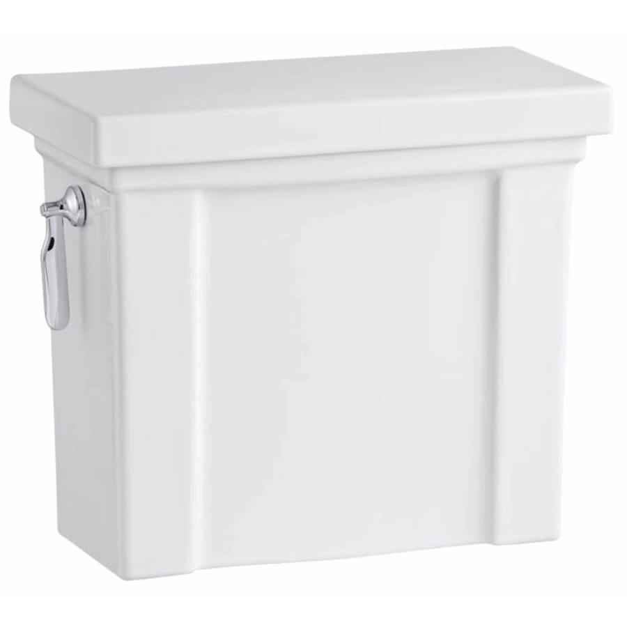 KOHLER Tresham White 1.28-GPF (4.85-LPF) 12 Rough-In Single-Flush High-Efficiency Toilet Tank