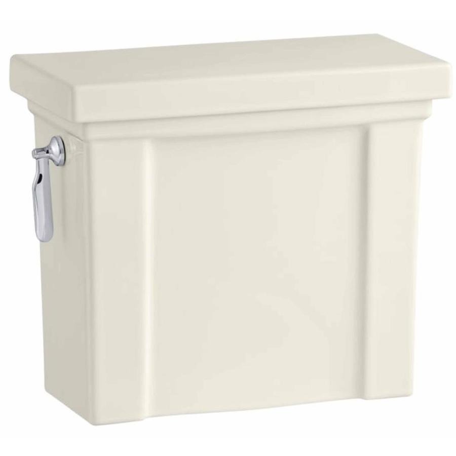 KOHLER Tresham Biscuit 1.28-GPF (4.85-LPF) 12 Rough-In Single-Flush High-Efficiency Toilet Tank
