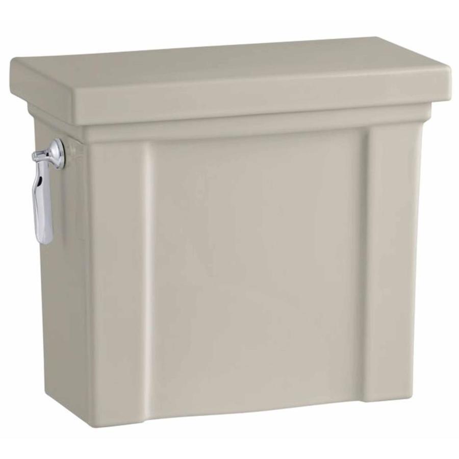 KOHLER Tresham Sandbar 1.28-GPF (4.85-LPF) 12 Rough-In Single-Flush High-Efficiency Toilet Tank