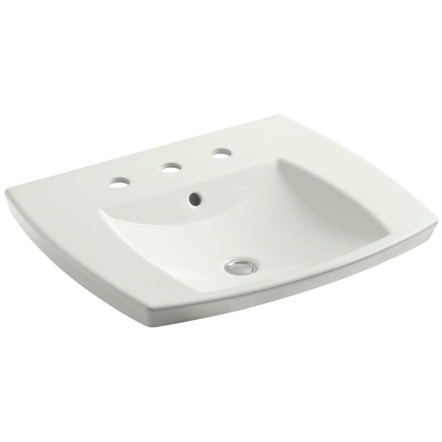 Shop Kohler Kelston Dune Drop In Rectangular Bathroom Sink With Overflow At