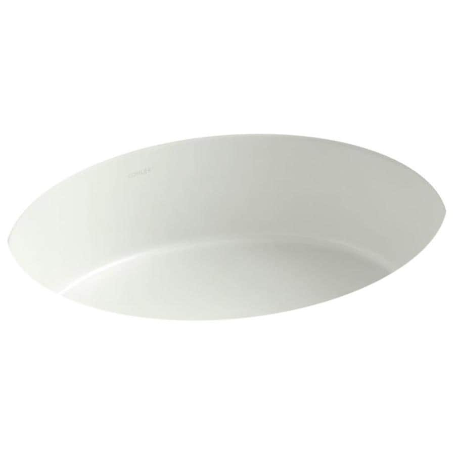 KOHLER Verticyl Dune Undermount Oval Bathroom Sink