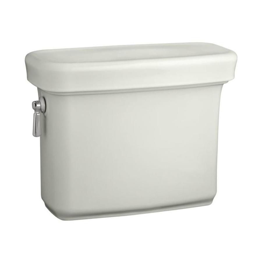 KOHLER Bancroft Dune 1.28-GPF (4.85-LPF) 12-in Rough-in Single-Flush High-Efficiency Toilet Tank