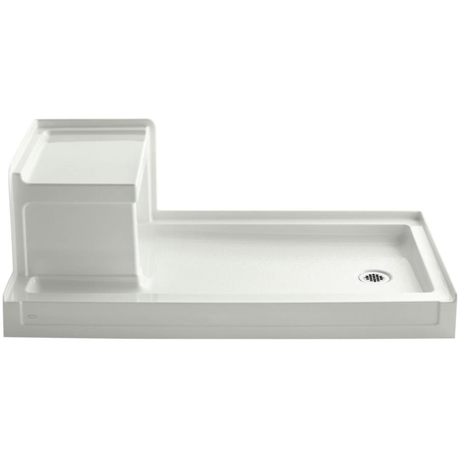 KOHLER Tresham Dune Acrylic Shower Base (Common: 32-in W x 60-in L; Actual: 32-in W x 60-in L)