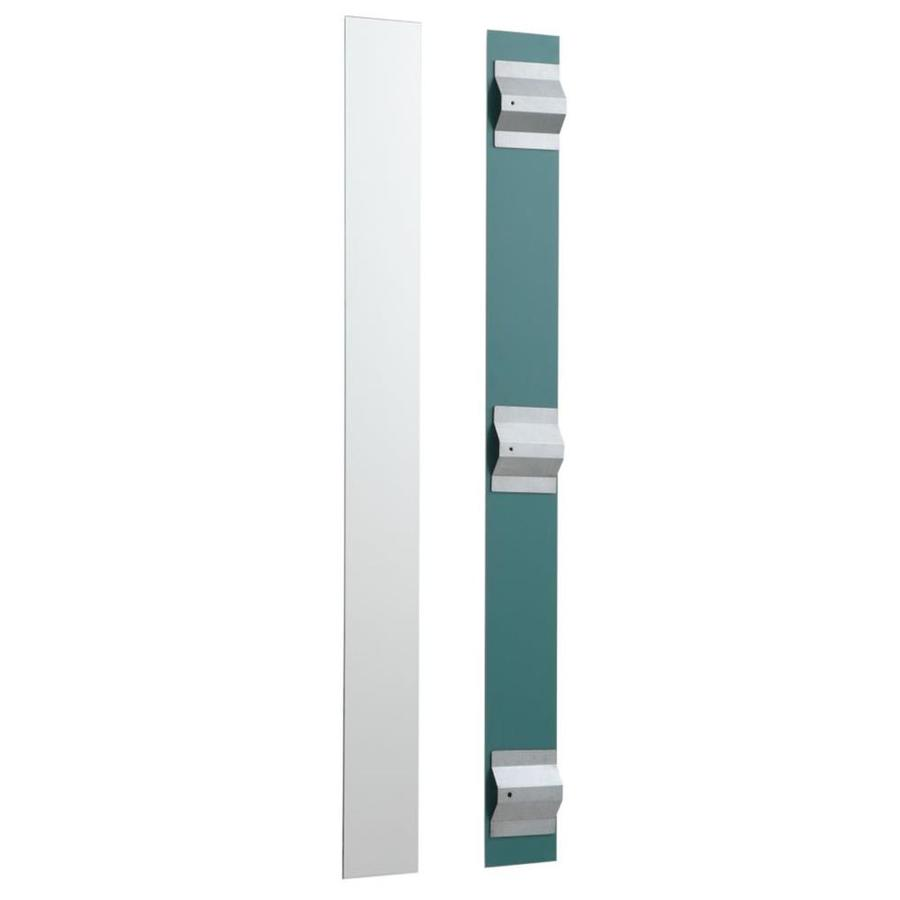 KOHLER 3.75-in W x 36.125-in H Rectangular Frameless Bathroom Mirror with Hardware and Polished Edges
