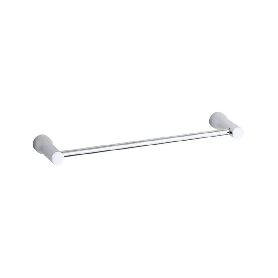 KOHLER Toobi Polished Chrome Single Towel Bar (Common: 18-in; Actual: 19.6875-in)