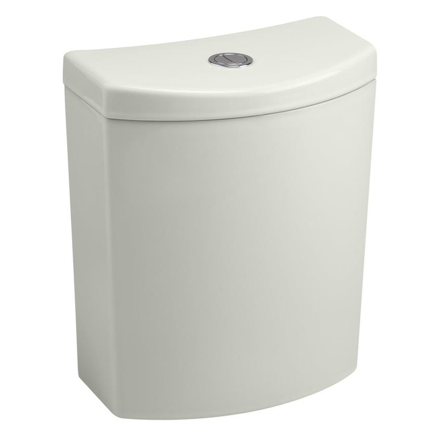 KOHLER Persuade Dune 1.6; 1.0-GPF 12-in Rough-In Dual-Flush High-Efficiency Toilet Tank