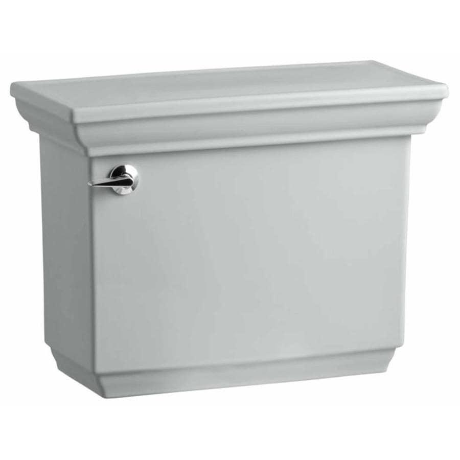 KOHLER Memoirs Ice Gray 1.6-GPF (6.06-LPF) 12 Rough-In Single-Flush High-Efficiency Toilet Tank