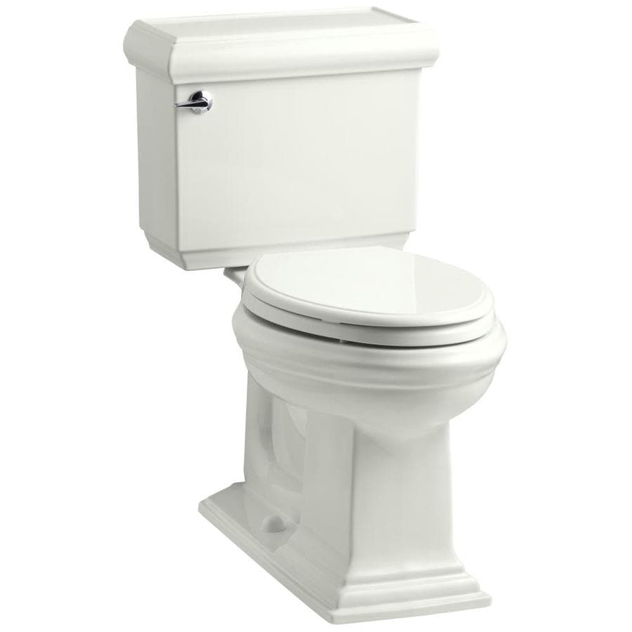 KOHLER Memoirs Dune 1.6-GPF (6.06-LPF) 12 Rough-In Elongated 2-Piece Chair Height Toilet