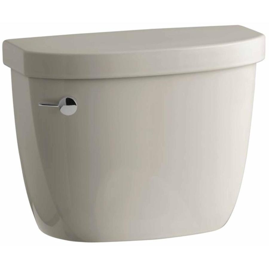 KOHLER Cimarron Sandbar 1.6-GPF (6.06-LPF) 12 Rough-In Pressure Assist Single-Flush High-Efficiency Toilet Tank