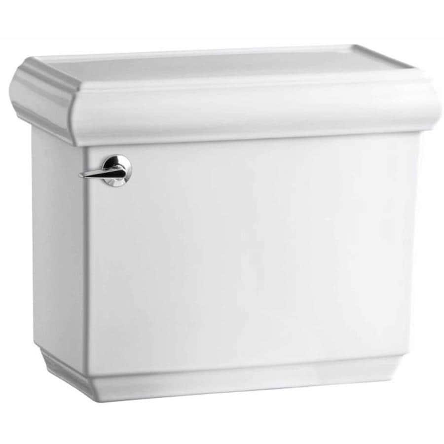 KOHLER Memoirs White 1.28-GPF (4.85-LPF) 12 Rough-In Single-Flush High-Efficiency Toilet Tank