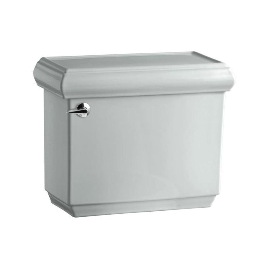 KOHLER Bancroft Ice Grey 1.28-GPF (4.85-LPF) 12-in Rough-in Single-Flush High-Efficiency Toilet Tank