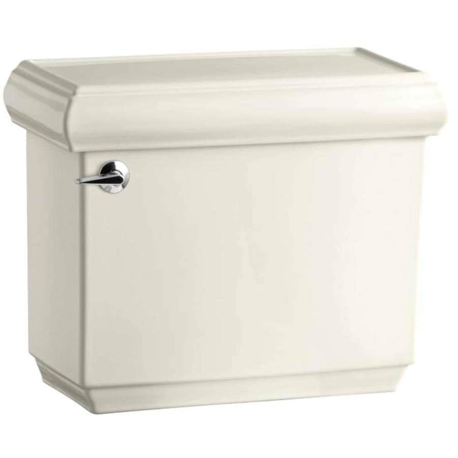 KOHLER Memoirs Biscuit 1.28-GPF (4.85-LPF) 12 Rough-In Single-Flush High-Efficiency Toilet Tank