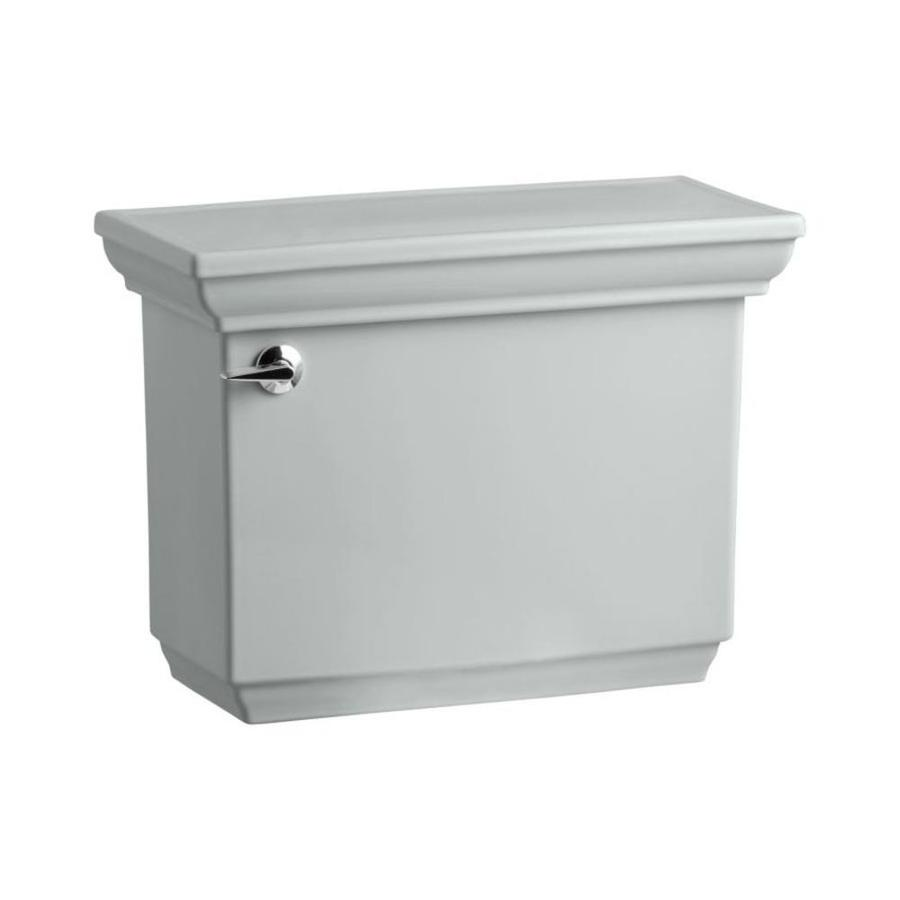 KOHLER Memoirs Ice Grey 1.28-GPF (4.85-LPF) 12-in Rough-in Single-Flush High-Efficiency Toilet Tank