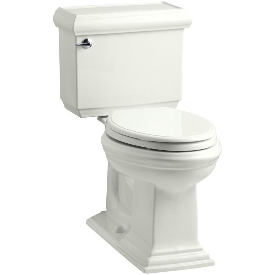 KOHLER Memoirs Dune 1.28-GPF (4.85-LPF) 12 Rough-In WaterSense Elongated 2-Piece Chair Height Toilet