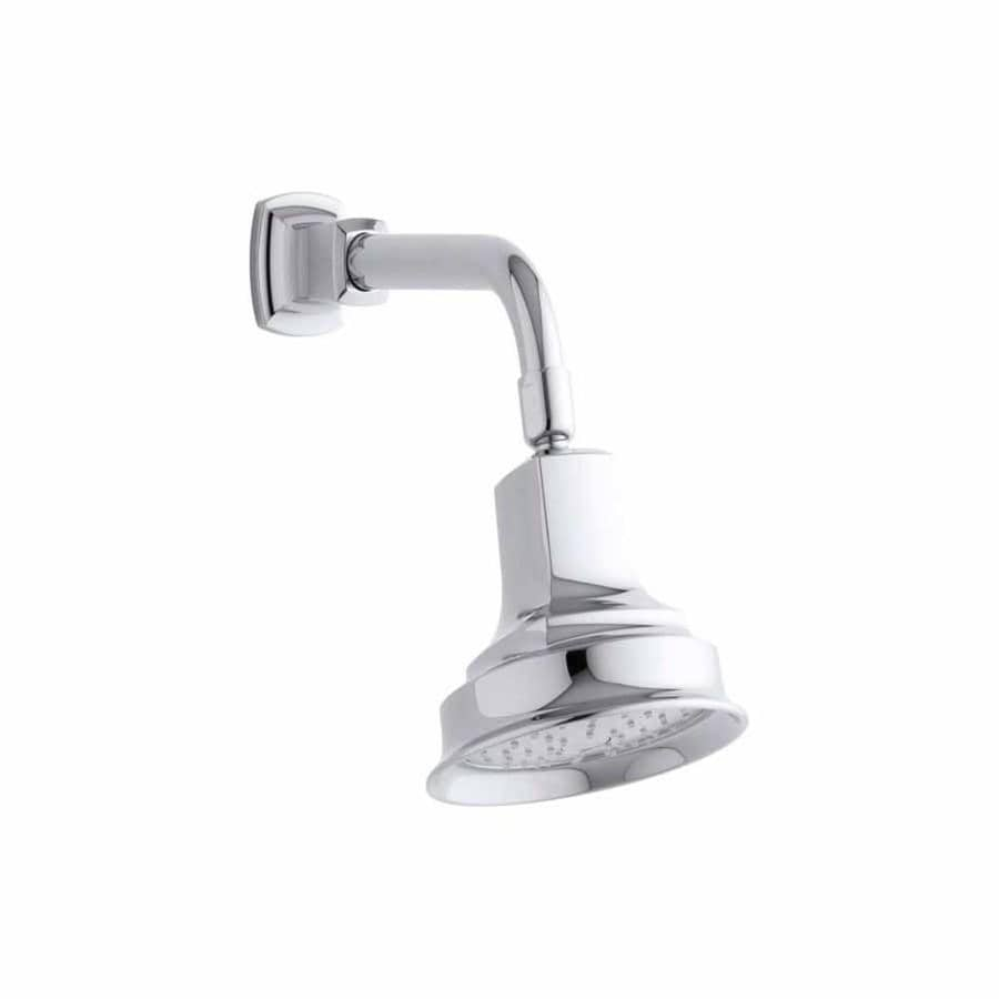 KOHLER Margaux 5.9375-in 2.0-GPM (7.6-LPM) Polished Chrome 1-Spray WaterSense Showerhead