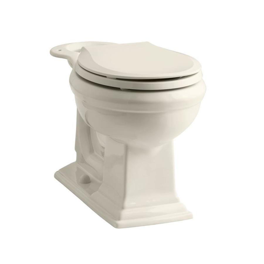 KOHLER Memoirs Chair Height Biscuit 12 Rough-In Round Toilet Bowl
