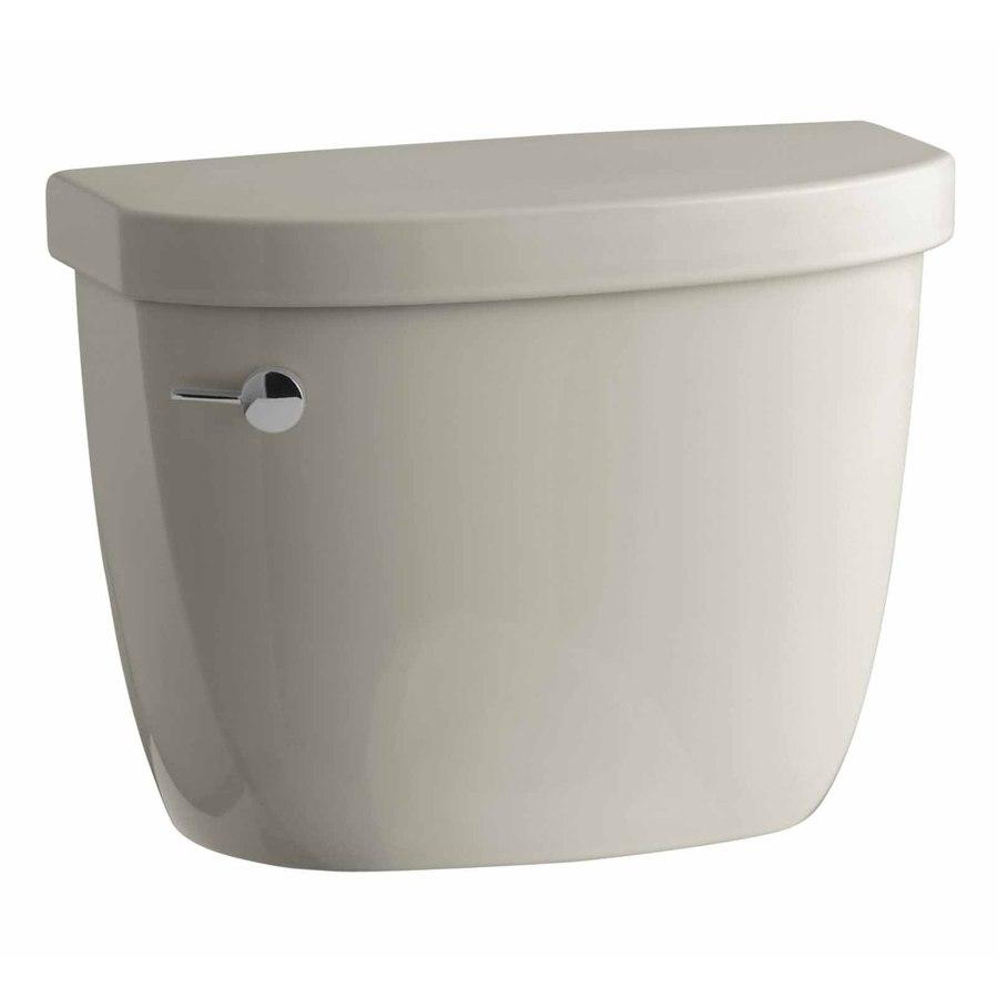 KOHLER Cimarron Sandbar 1.28-GPF (4.85-LPF) 10 Rough-In Single-Flush High-Efficiency Toilet Tank