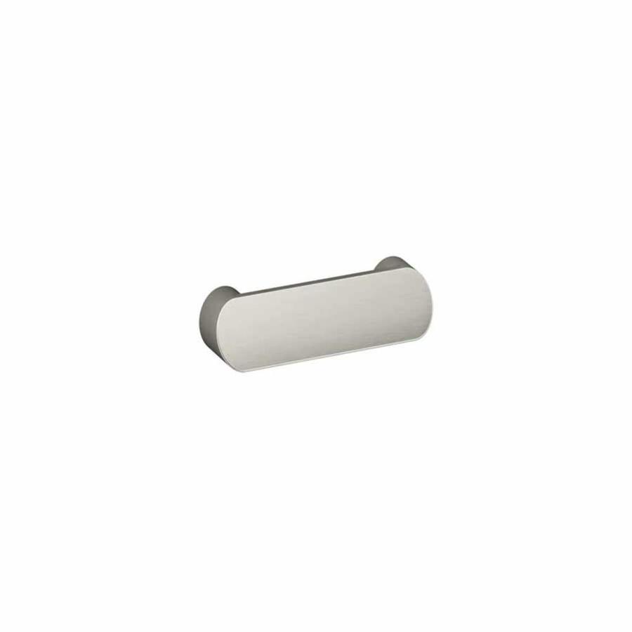 KOHLER 3-1/4-in Center-To-Center Vibrant Brushed Nickel Toobi Bar Cabinet Pull
