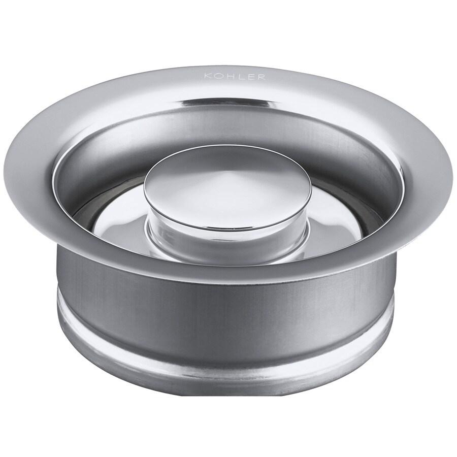 KOHLER 4.5-in Polished Chrome Garbage Disposal Trim Set