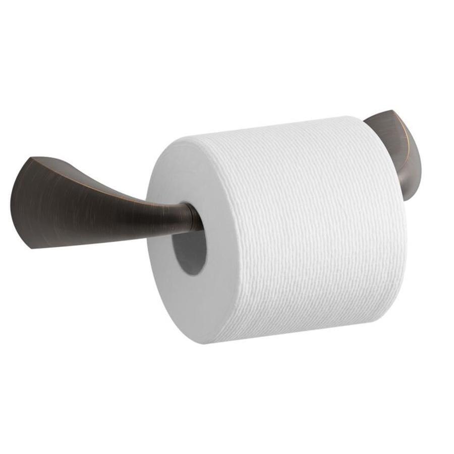 KOHLER Alteo Oil-Rubbed Bronze Surface Mount Pivot Toilet Paper Holder