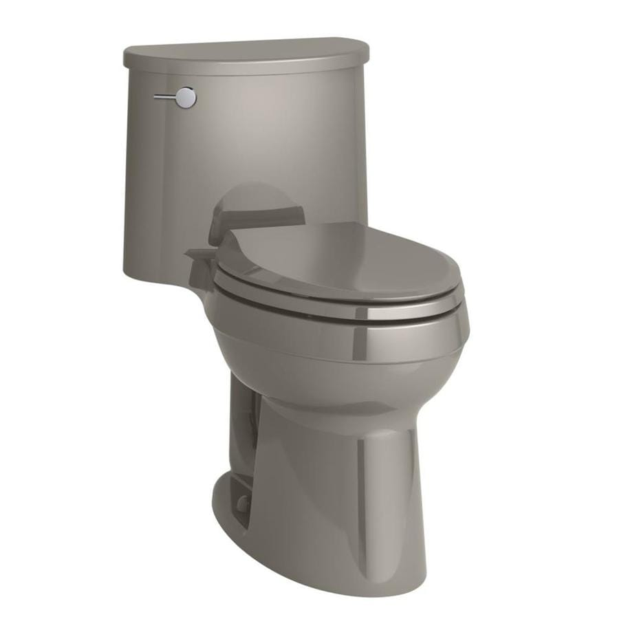 KOHLER Adair Cashmere 1.28-GPF (4.85-LPF) 12 Rough-In WaterSense Elongated 1-Piece Chair Height Rear Outlet Toilet