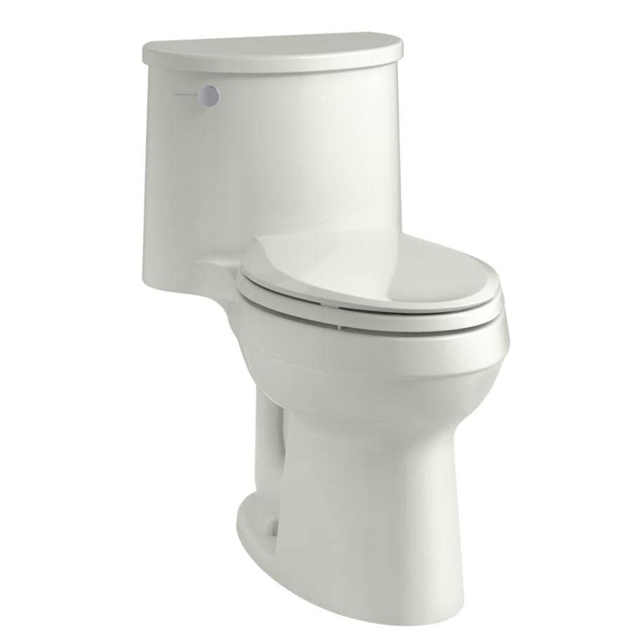 KOHLER Adair Dune 1.28-GPF (4.85-LPF) 12 Rough-In WaterSense Elongated 1-Piece Chair Height Rear Outlet Toilet
