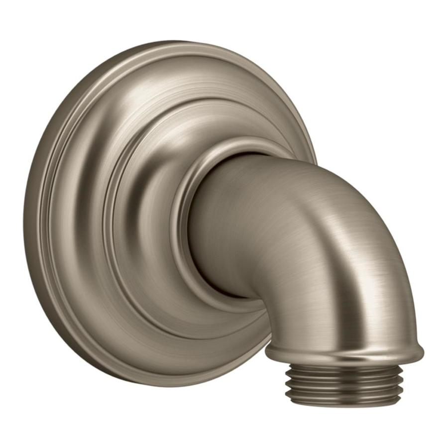 KOHLER Artifacts Vibrant Brushed Bronze Shower Arm Mount