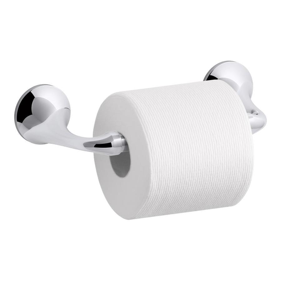 KOHLER Elliston Polished Chrome Surface Mount Toilet Paper Holder