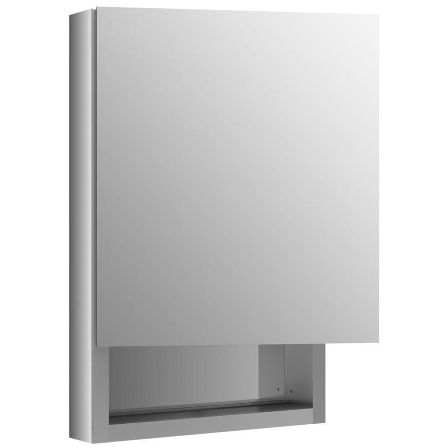 KOHLER Verdera 20-in x 30-in Rectangle Surface/Recessed Mirrored Aluminum Medicine Cabinet