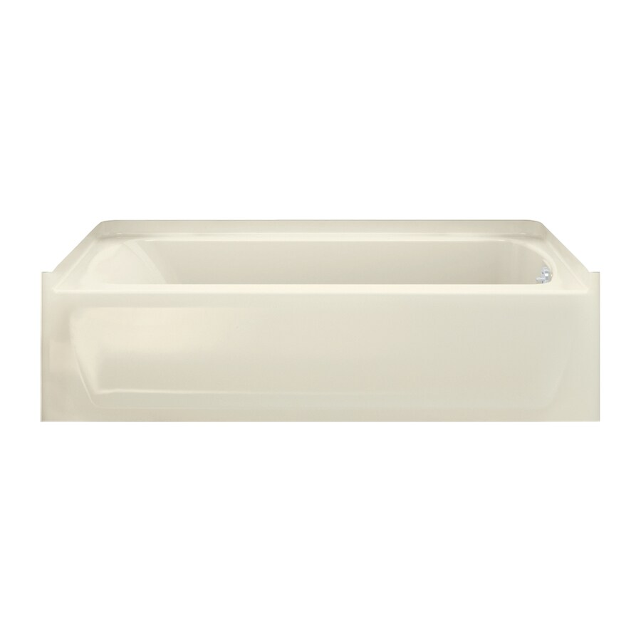 Sterling Ensemble Vikrell Rectangular Skirted Bathtub with Right-Hand Drain (Common: 60-in x 30-in; Actual: 28.38-in x 60-in x 30-in)
