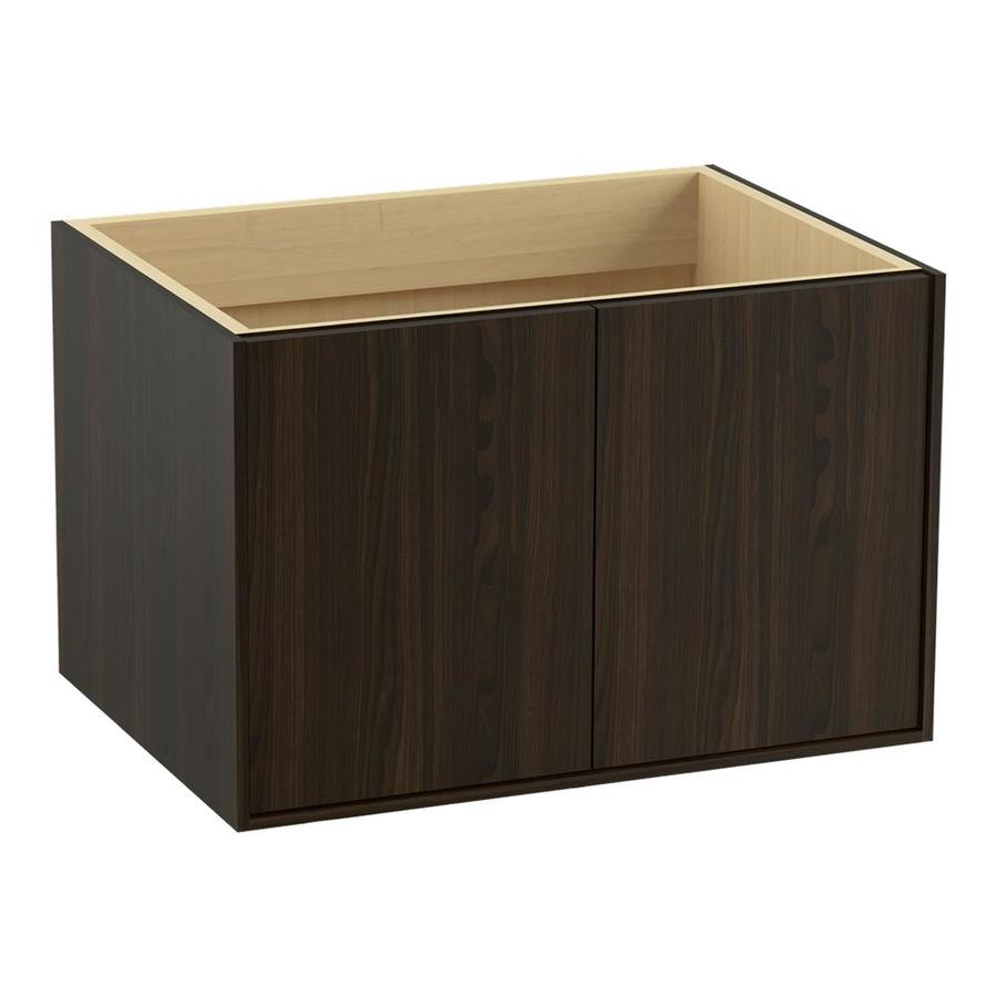 KOHLER Jute Jersey Oak Contemporary Bathroom Vanity (Common: 30-in x 22-in; Actual: 30-in x 21.875-in)