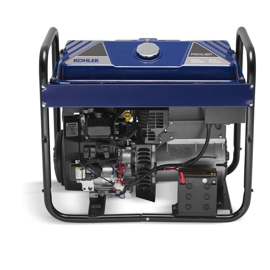 KOHLER PRO123Efi 10500-Running Watts Portable Generator with Kohler Engine