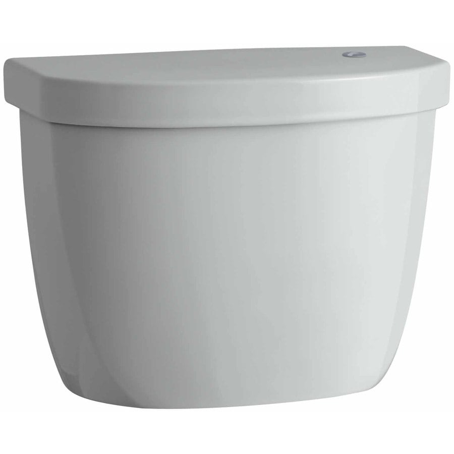 KOHLER Cimarron Ice Gray 1.28-GPF (4.85-LPF) 12 Rough-In Single-Flush High-Efficiency Toilet Tank