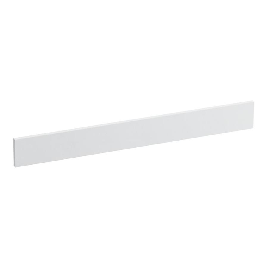 KOHLER 3.5-in x 31-in White Expressions Solid Surface Backsplash