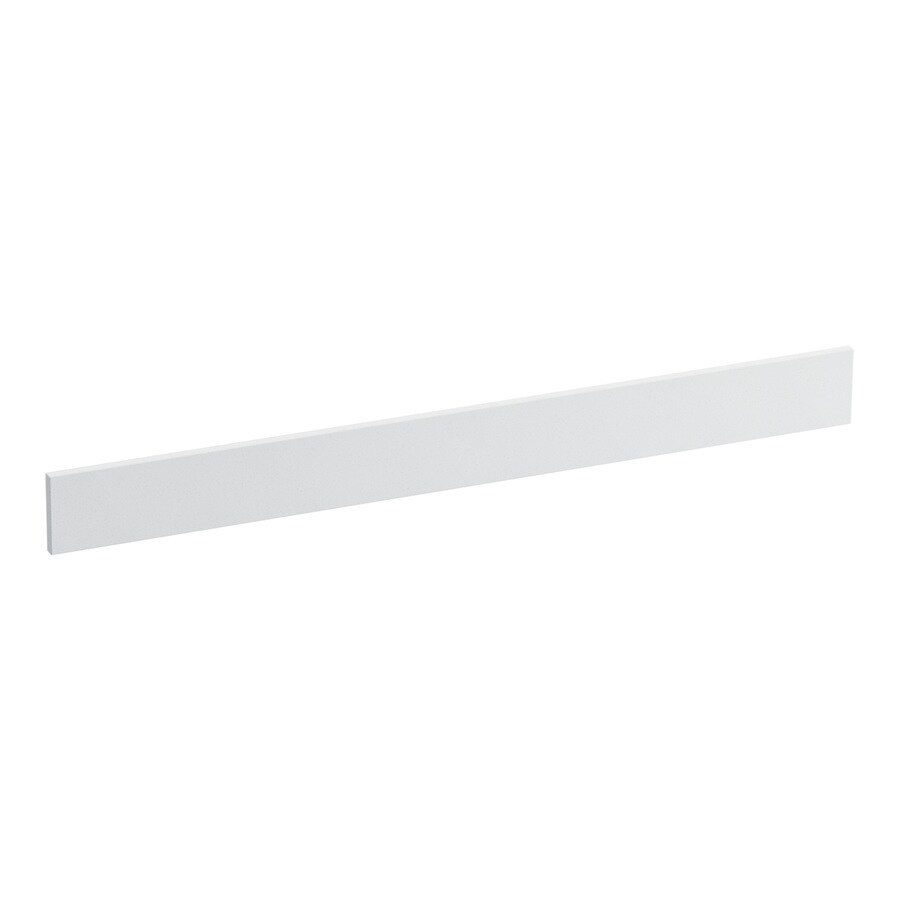 KOHLER 3.5-in x 37-in White Expressions Solid Surface Backsplash
