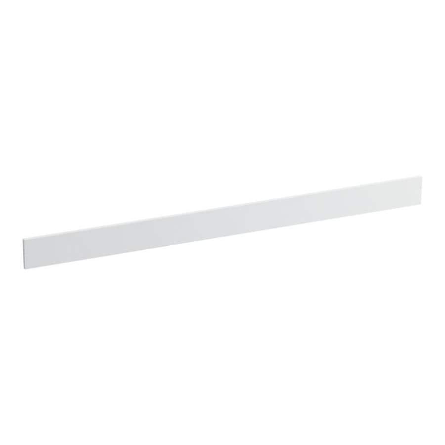 KOHLER 3.5-in x 49-in White Expressions Solid Surface Backsplash
