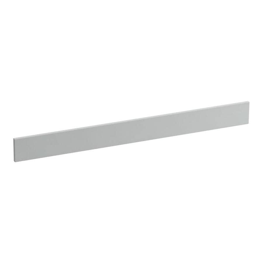 KOHLER 3.5-in x 37-in Ice Grey Expressions Solid Surface Backsplash