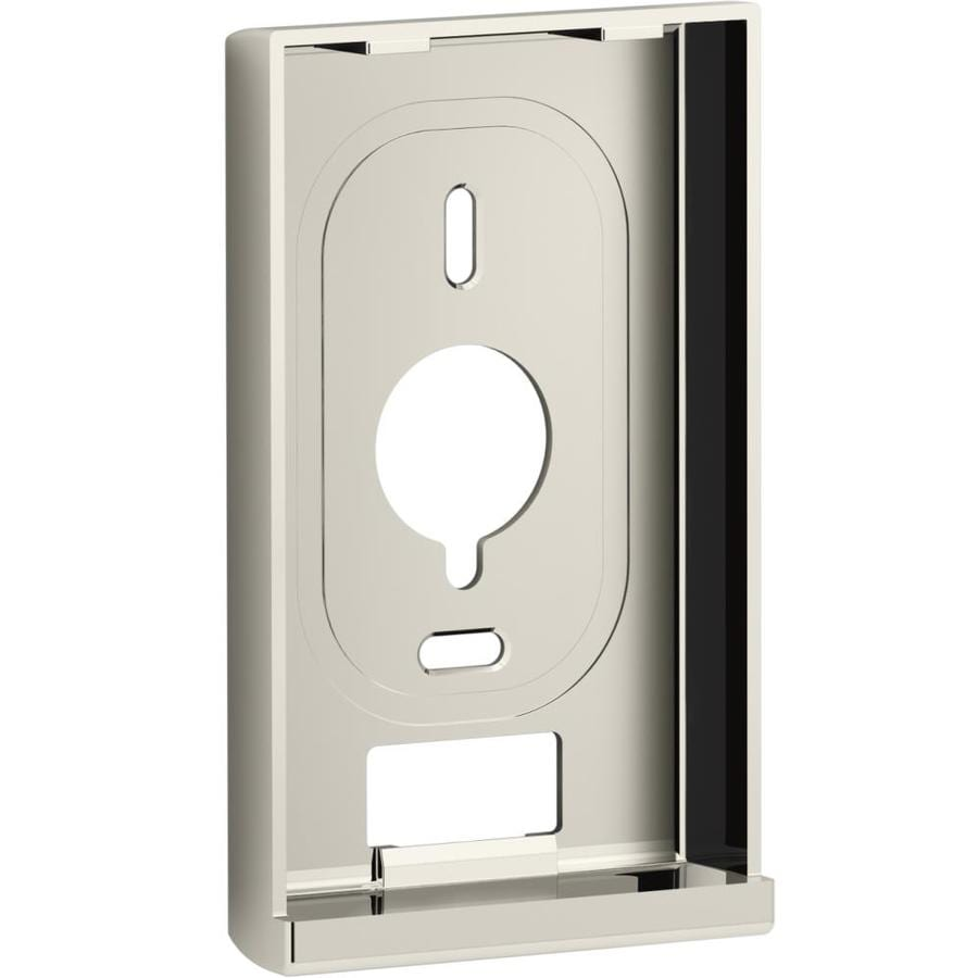 KOHLER DTV Vibrant Polished Nickel Wall Bracket