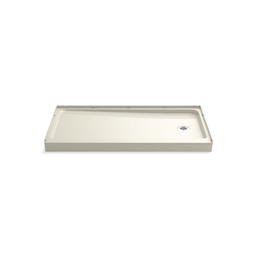 Sterling Ensemble Biscuit Vikrell Shower Base (Common: 60-in W x 32-in L; Actual: 60-in W x 32-in L)